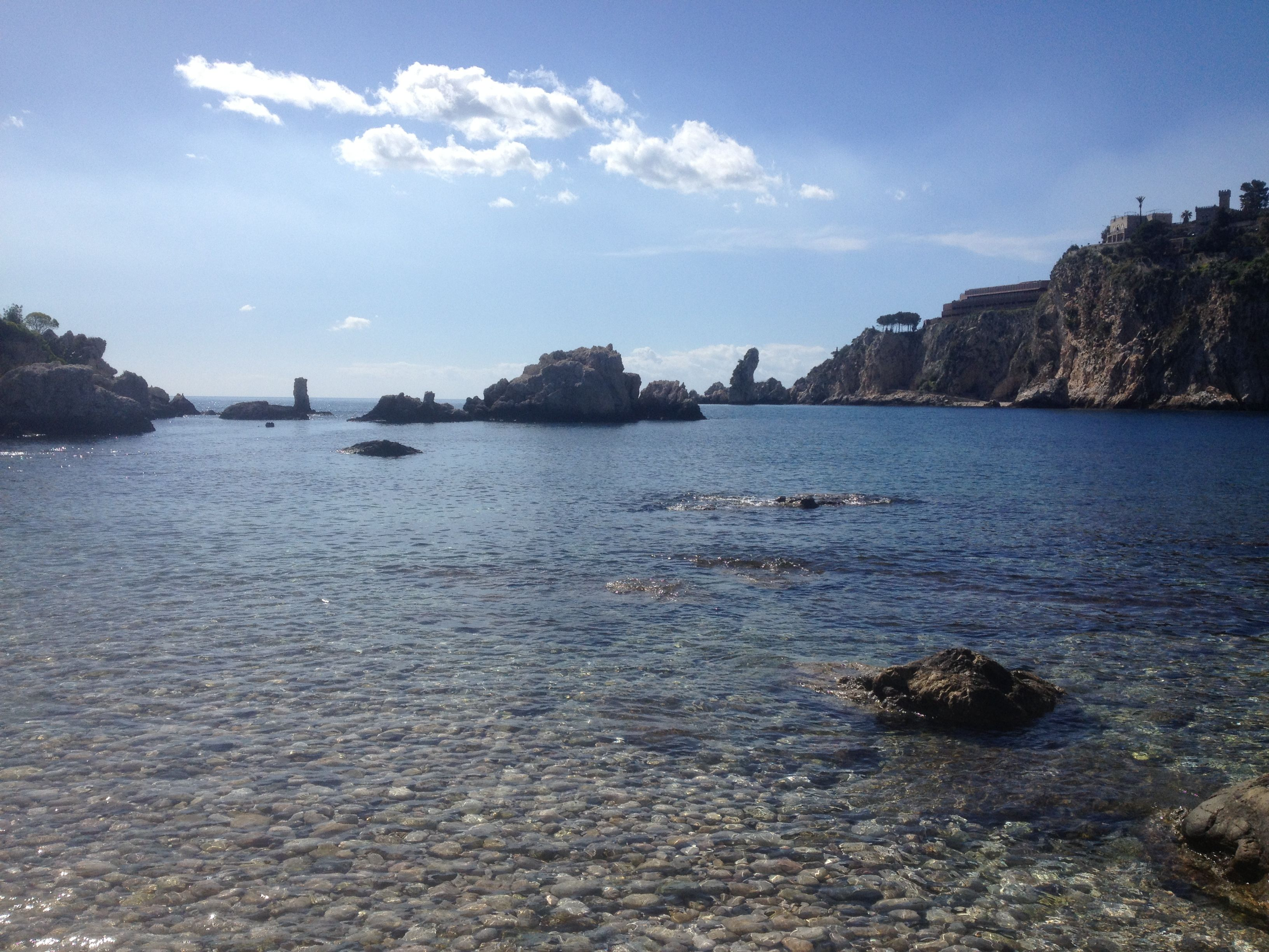 Island off the coast of Sicily