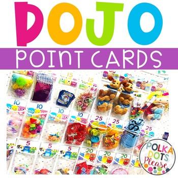 Class Dojo Point Cards in 2020 Dojo points, Class dojo, Dojo