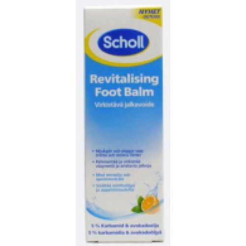 scholl revitalising foot balm