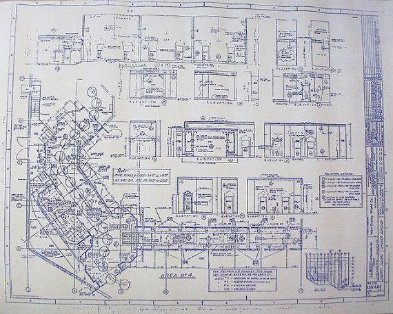 Walt disney world haunted mansion blueprint mickey for Haunted mansion blueprints