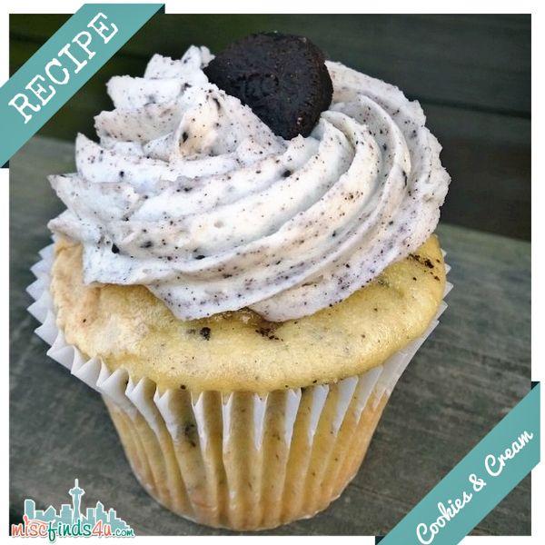 Cookies & Cream Cupcakes #cookiesandcreamfrosting
