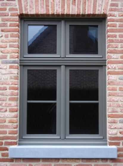 Ral7039 Fassade Haus Hausfenster Aussenwandfarbe