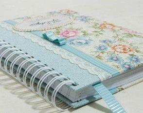 Ag. Noiva - floral CHARME azul