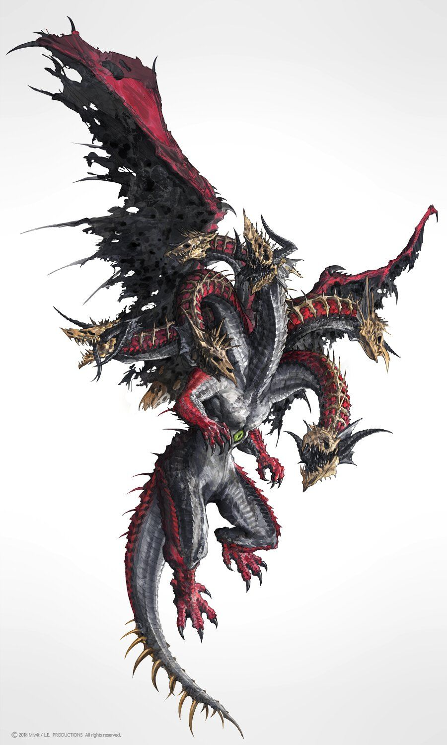 Photo of Sounds like a western interpretation of the dragon orochi of ancient Japan