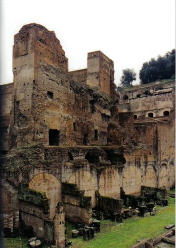 Old ruins in Rome.
