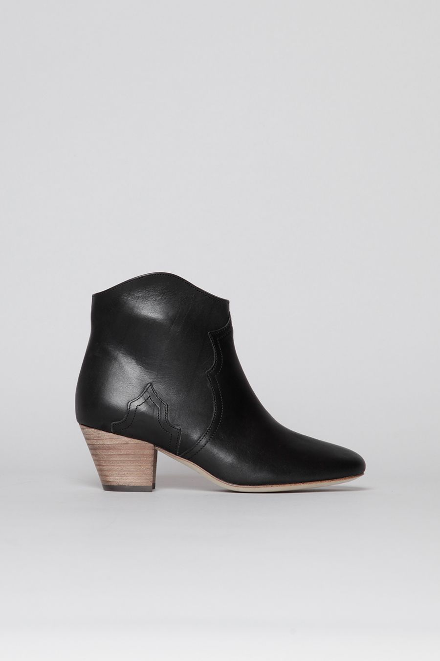 ac6f298388 Isabel Marant Leather Dicker Boot (Black) | Shoes | Pinterest ...
