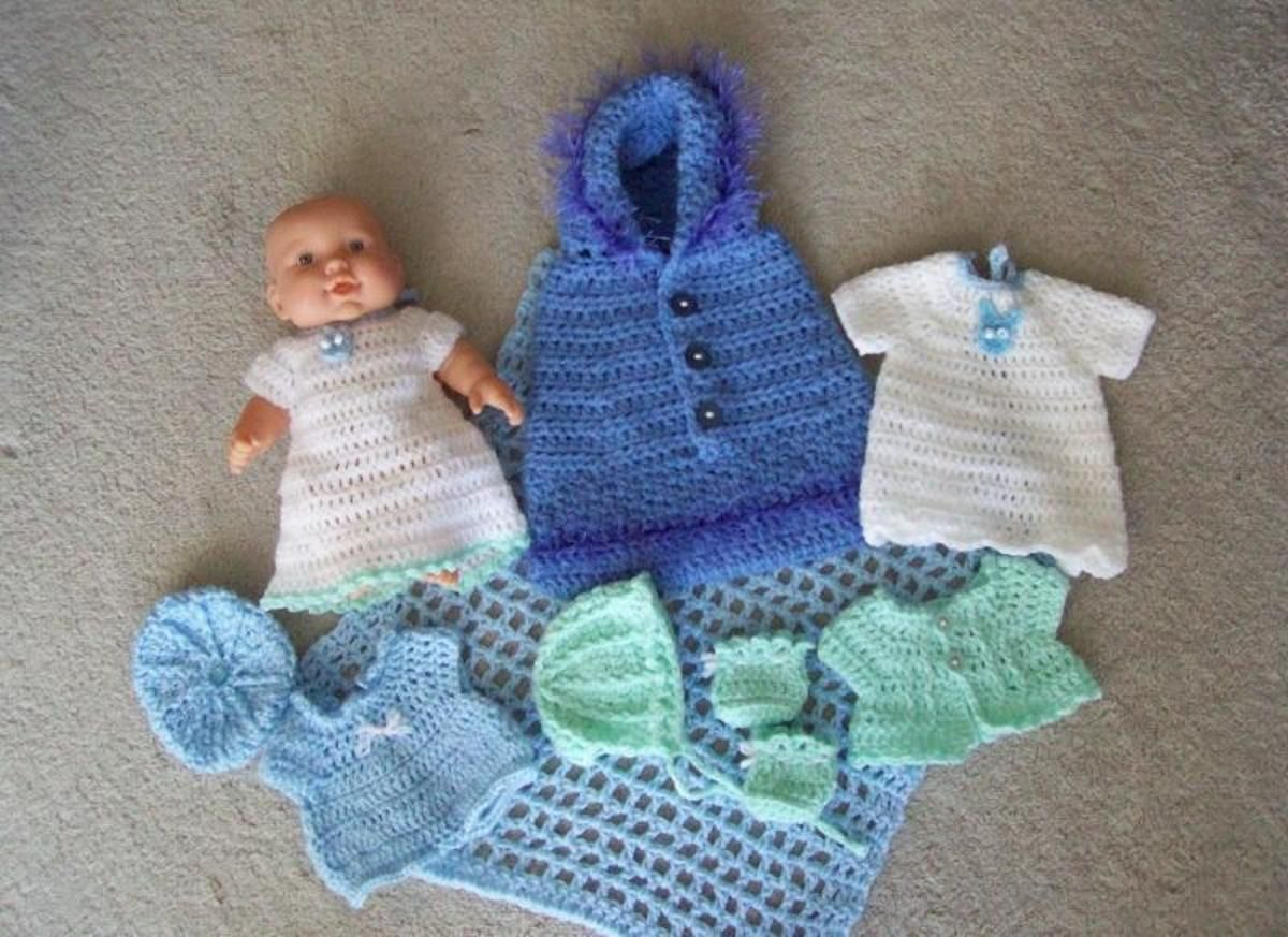 BBL - baby layette | Craftsy | Barbie and American Girl | Pinterest ...