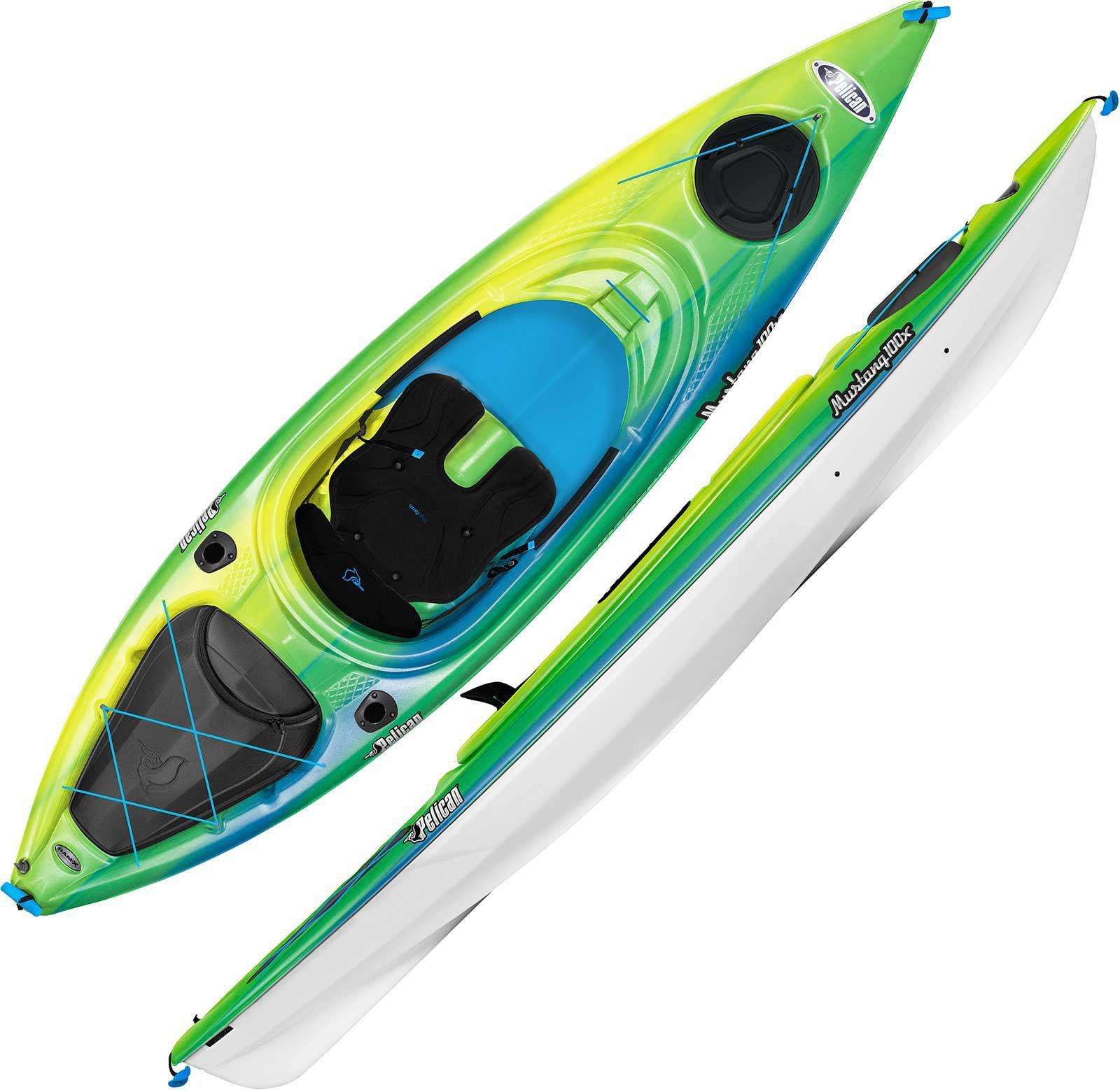 Pelican Mustang 100X Kayak | Everybody has Wants | Kayaking, Pelican