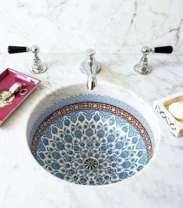 Marokkaanse badkamer - THESTYLEBOX | Badkamer | Pinterest | Rund ums ...