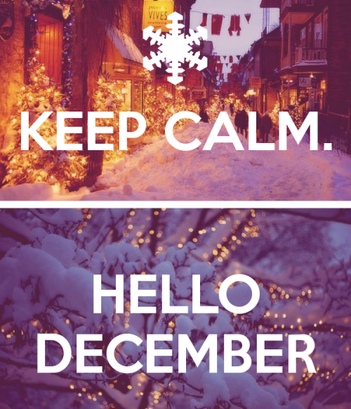 Keep Calm December Image