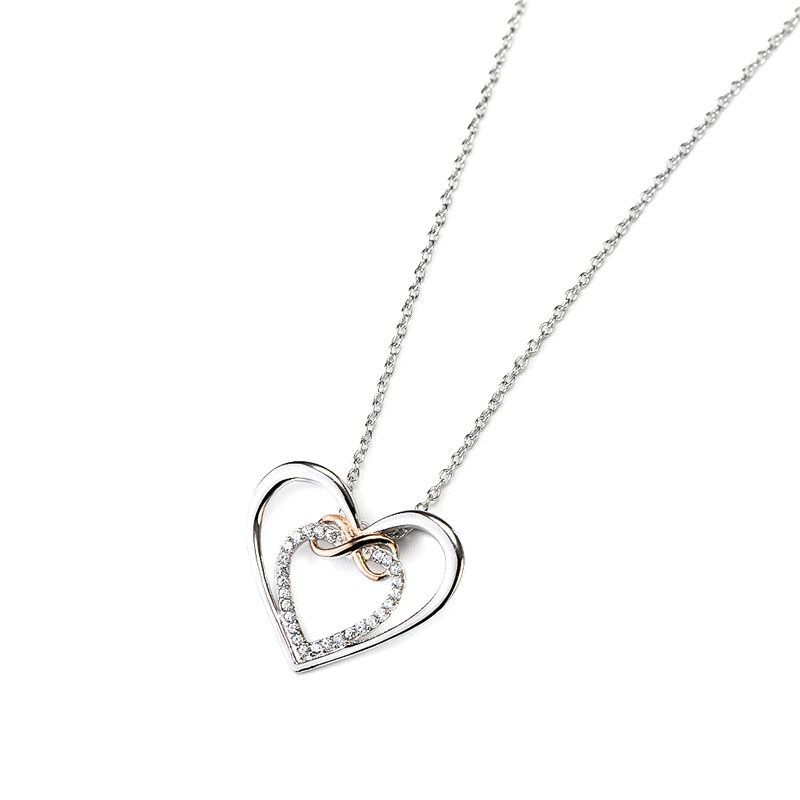 dfdb274ff004c 925 Sterling Silver Infinity Love Necklace in 2019 | Infinity ...
