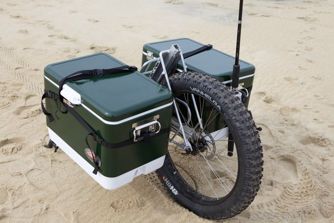 The Honey Badger Wheel Fishing Cart From Honeybadgerwheel Com