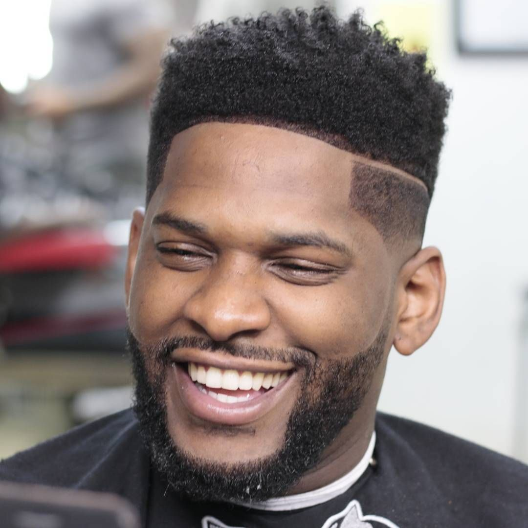 edgy lineup flattop haircuts for modern black guys | faded