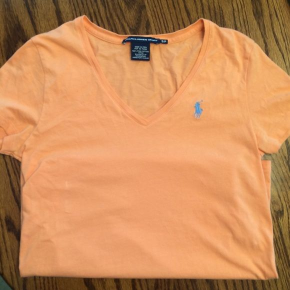 Polo Ralph Lauren pink classic t NWT large | Polo ralph