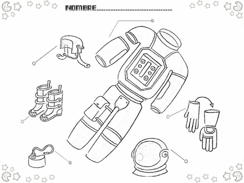 Cohete De Astronauta Y Vintage De Dibujos Animados: Universo, Sistema Solar Para