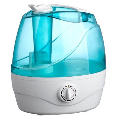 Optimus 1.4 Gallon tank capacity, operates up to 8 hours. Water empty automatic shut off switch and refill light. Adjustable mist volume control. Easy to fill a transparent water tank. Whisper-quiet operation, won't disturb sleep. Removable tank with handle for easy filling. Moisture output: 230ml/h.