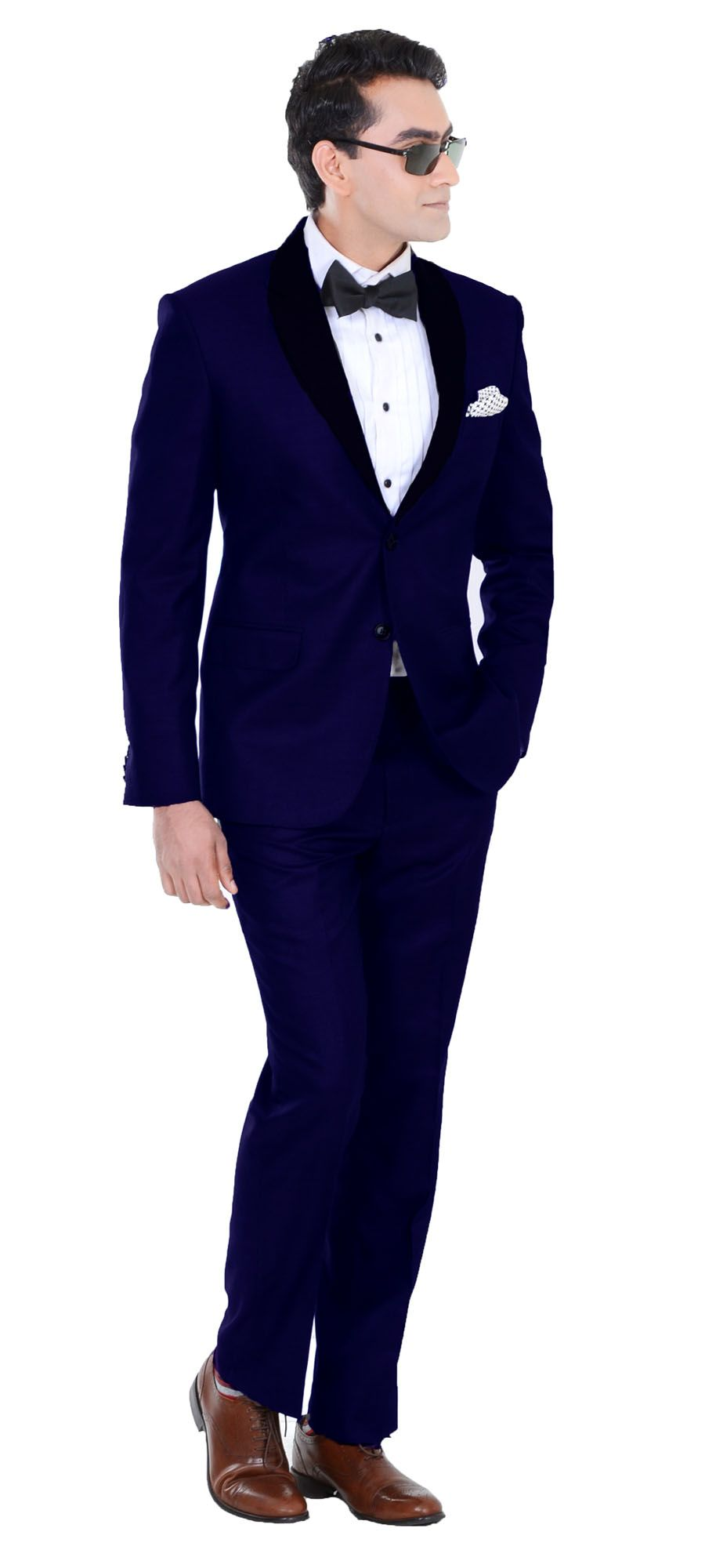 Introducing The Perfect Midnight Blue Tuxedo For Weddings Navy Blues Make This A Show Stopper