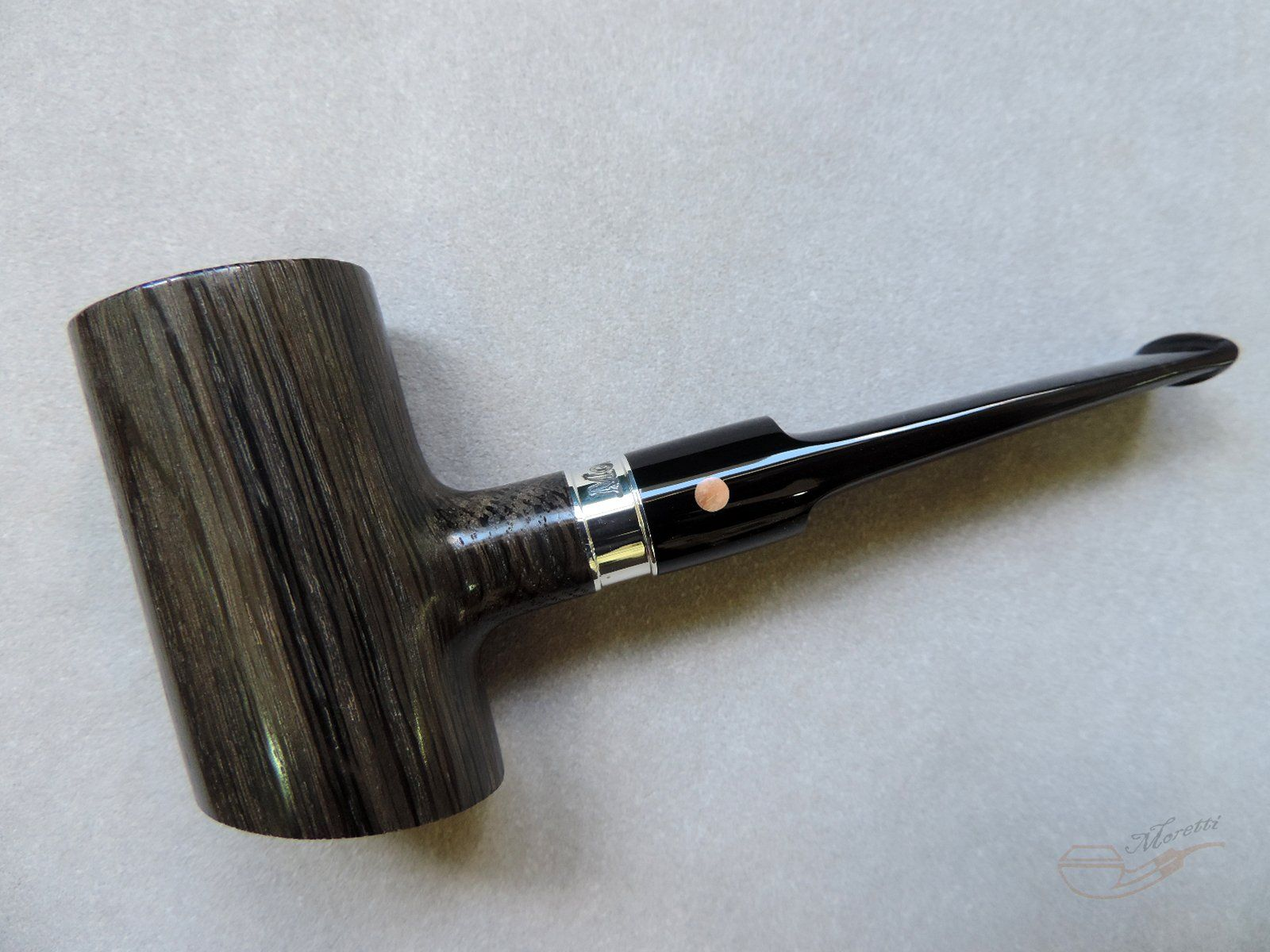 Nicely polished black wood pipe #woodstonepipes | tobacco pipes ...