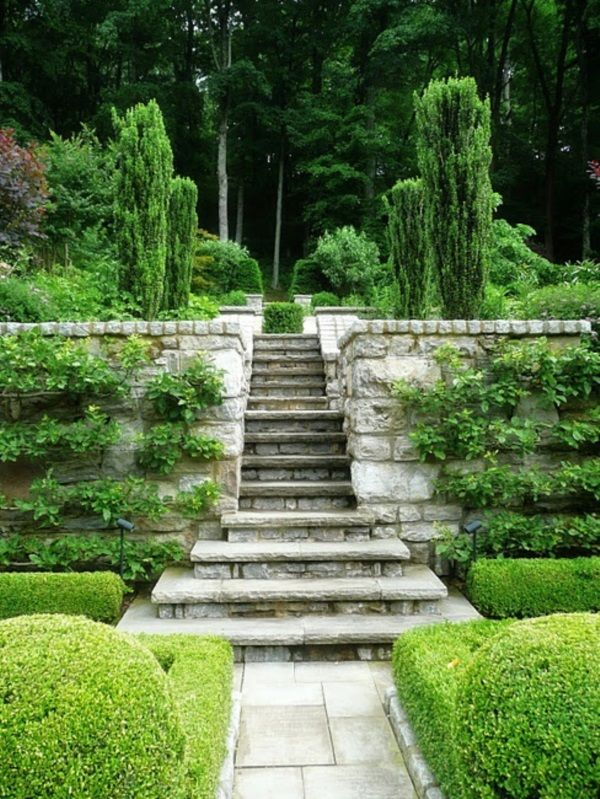Best 40 Cool Garden Stair Ideas For Inspiration Garden Stairs 640 x 480
