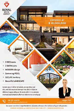 Real Estate Multi Psd Flyer Template Fff Real Estate Flyer