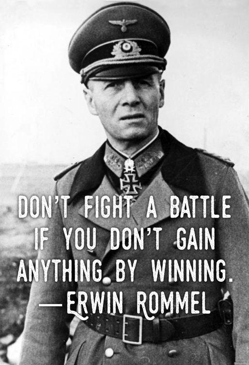 "Famous Military Quotes Fascinating Gfm.e.rommel""desertfox""  Military History  Pinterest  History . Inspiration Design"