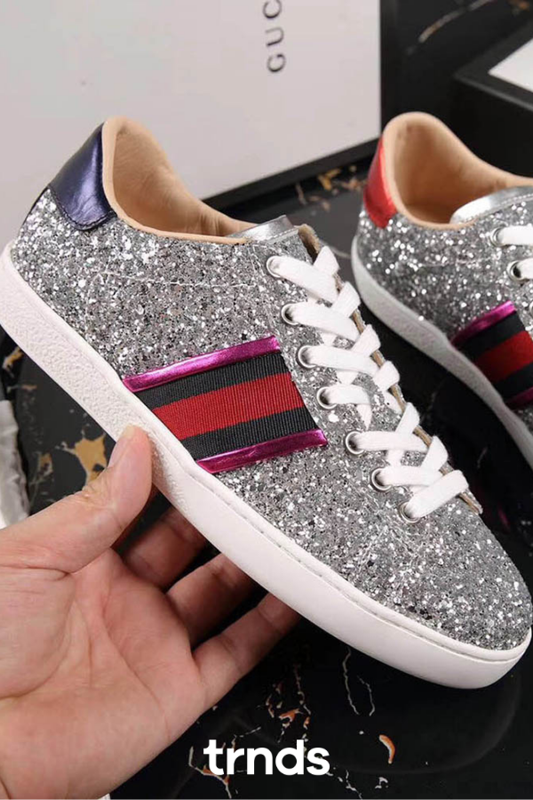 GUCCI Ace glitter sneakers for Women