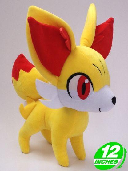 22d8817cd0e6eb Pokemon knuffel van de pokemon Fennekin Lekker zachte, schattige knuffel.  Netjes en degelijk afgewerkt. ongeveer 30cm hoog