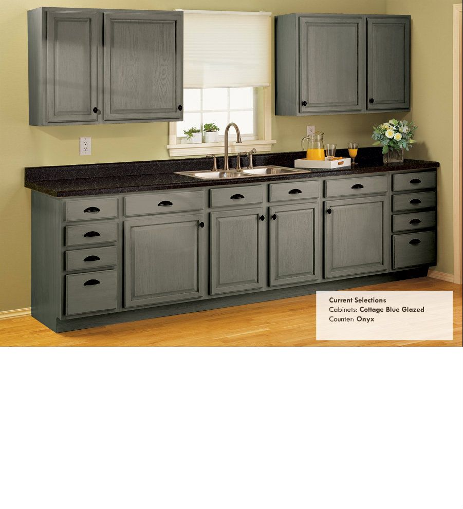 Cottage Blue Glazed Onyx Counters This Is Just A Really Pretty Combination But Wo Small Kitchen Cabinet Design Cheap Kitchen Cabinets Refinishing Cabinets