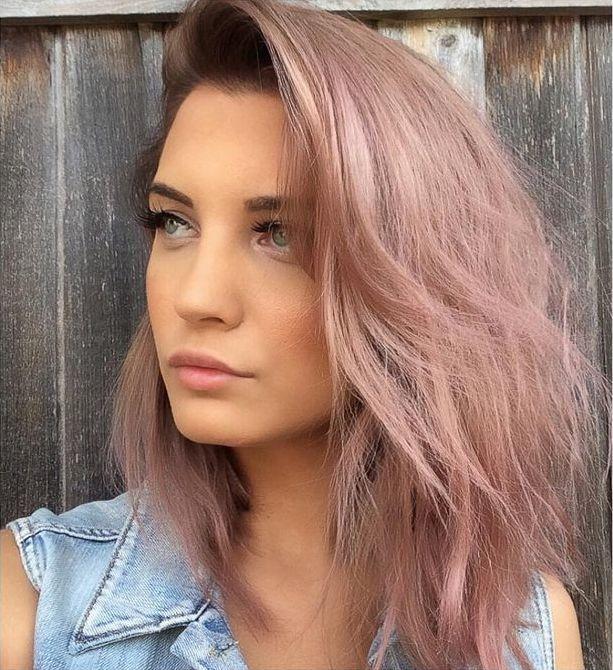 ... hair purple rose gold hair color trends hair looks colorful hair hair