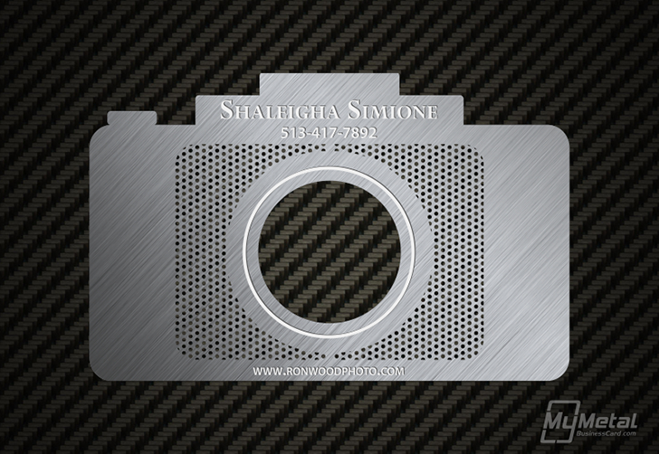Shaleigha Simione Photographer Business Card Photography Business Cards Photographer Business Cards Business Card Photographer