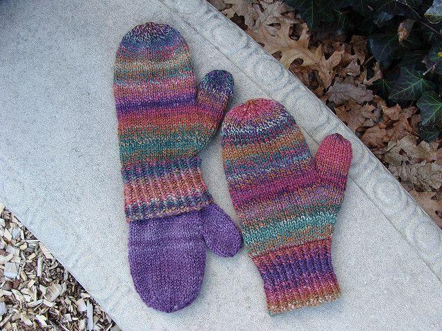 Ravelry Teresas Lined Mittens Pattern By Mavis Adam Knitting