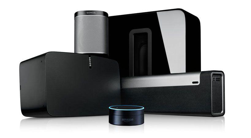 Sonos komplett in Spotify App über Spotify Connect
