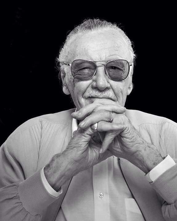 Stan Lee Stan Lee Marvel Photo Black And White Picture Wall