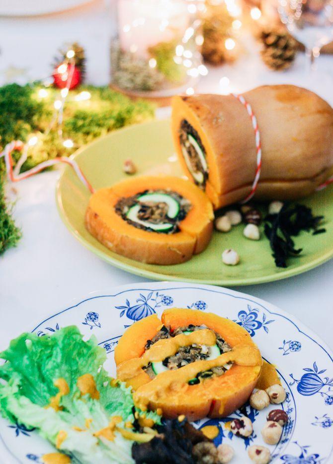 Menu de Noël végétarien / vegan | Cosmic Tomatoes