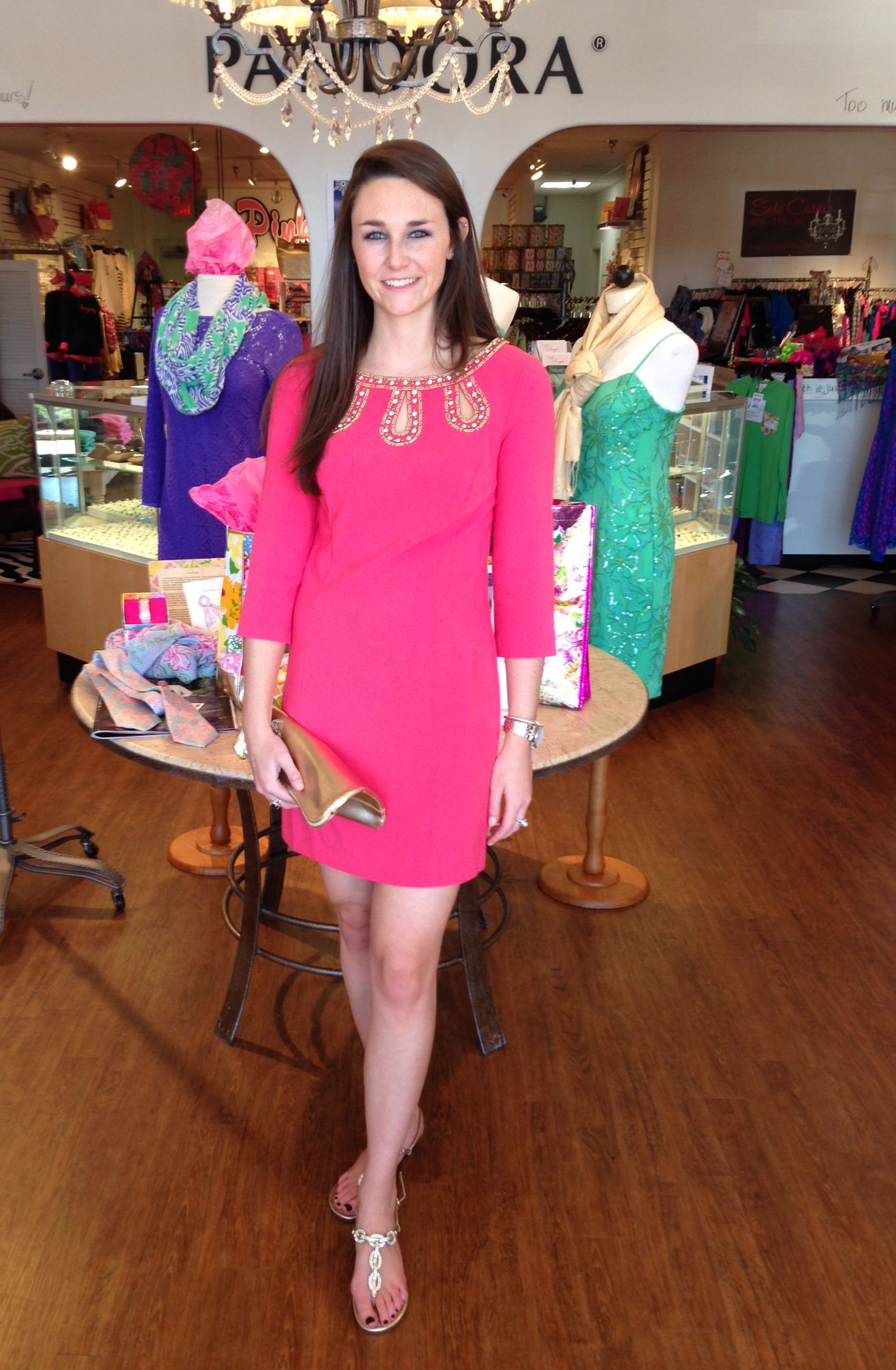 Lilly Pulitzer Bronte Shift in Watermelon. Click to shop this dress ...