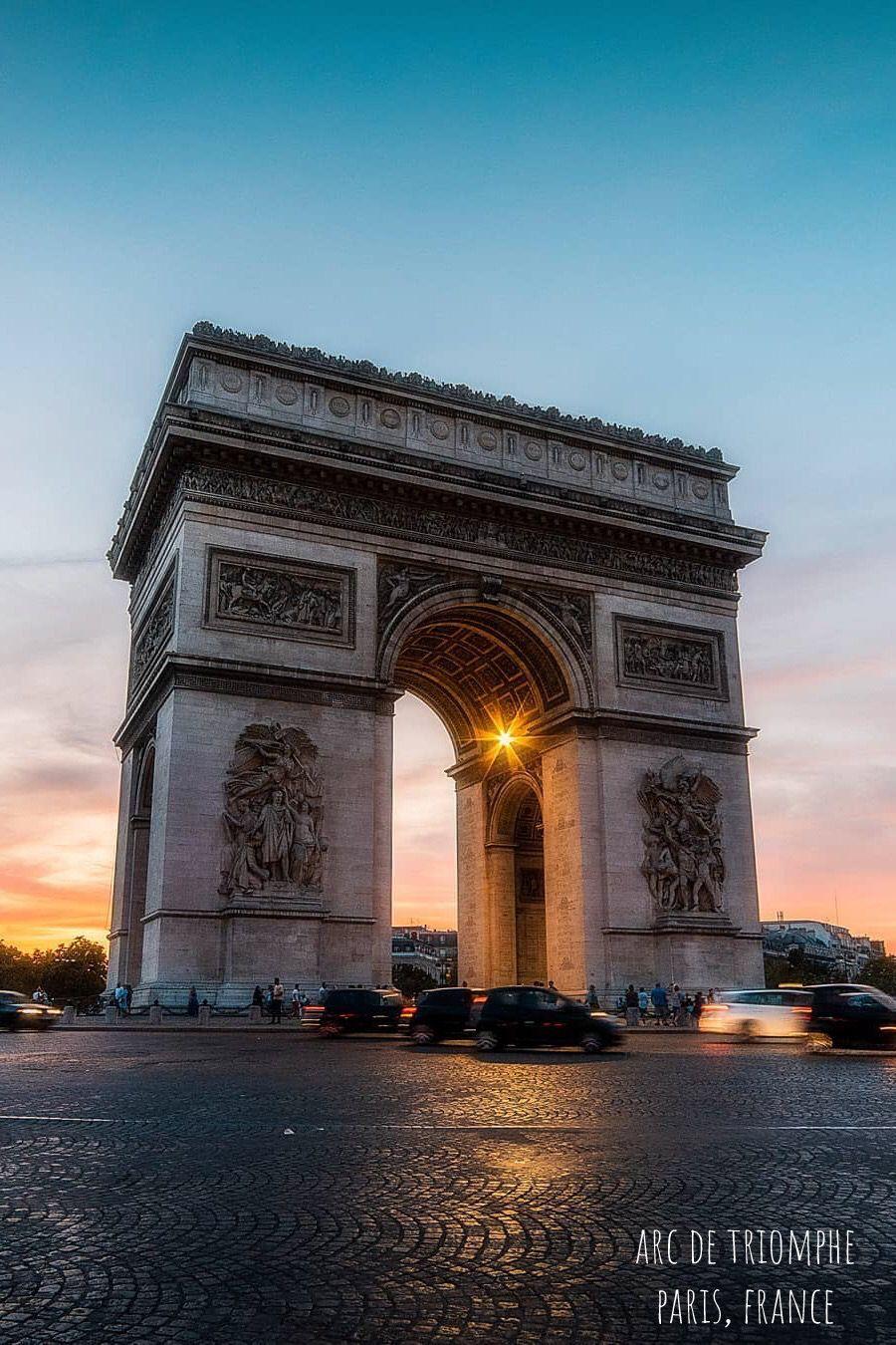 Arc De Triomphe In Paris France Paris Vacation Creative Instagram Stories Paris Wallpaper