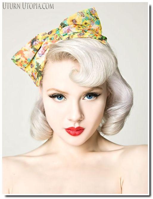 Épinglé sur Pinup Hairstyles