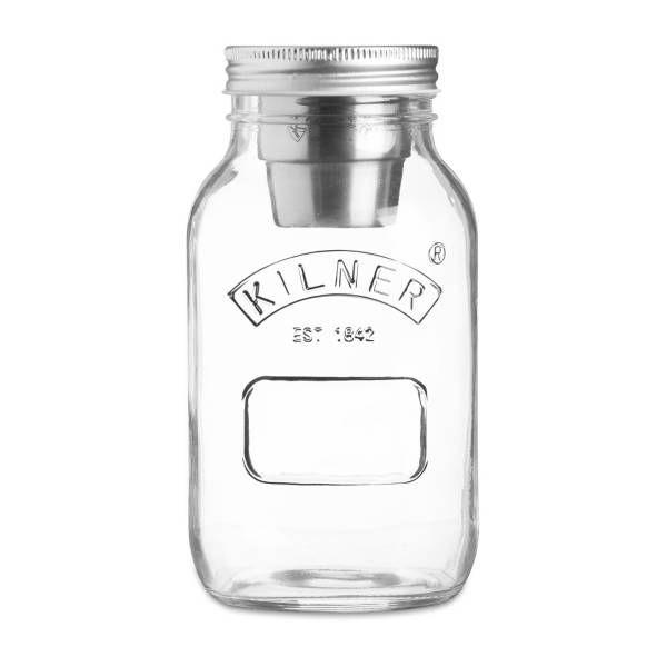 Product Image For Kilner 1 Liter On The Go Food Jar 1 Out Of 4 Food Jar Food To Go Jar