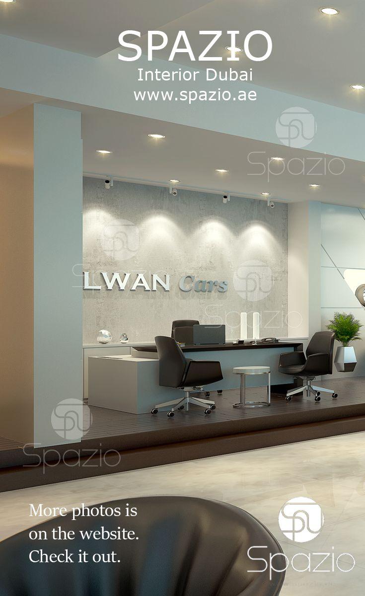 Car Showroom Interior Design Dubai Professional Office Interior