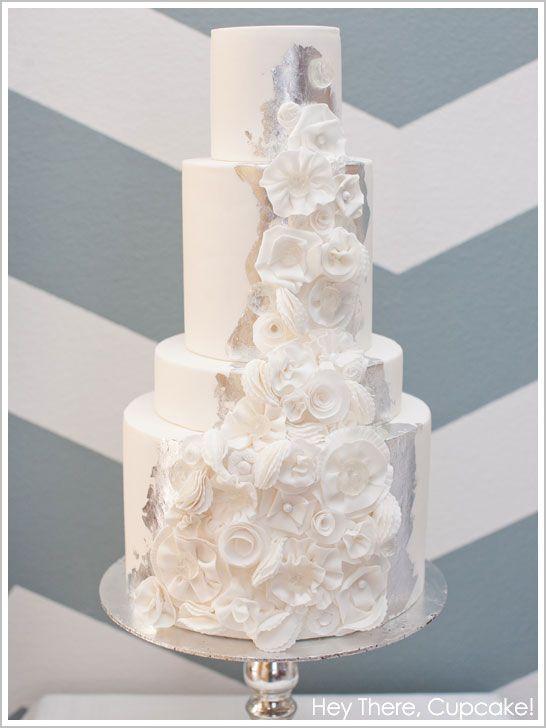 Snowy Winter White Cake