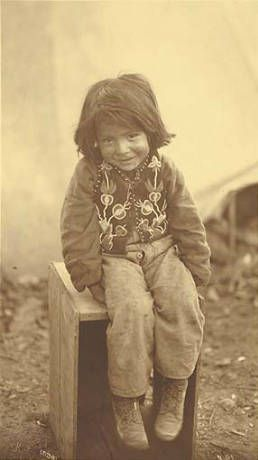 Young Indian boy, possibly Tlingit, Alaska, ca. 1904.