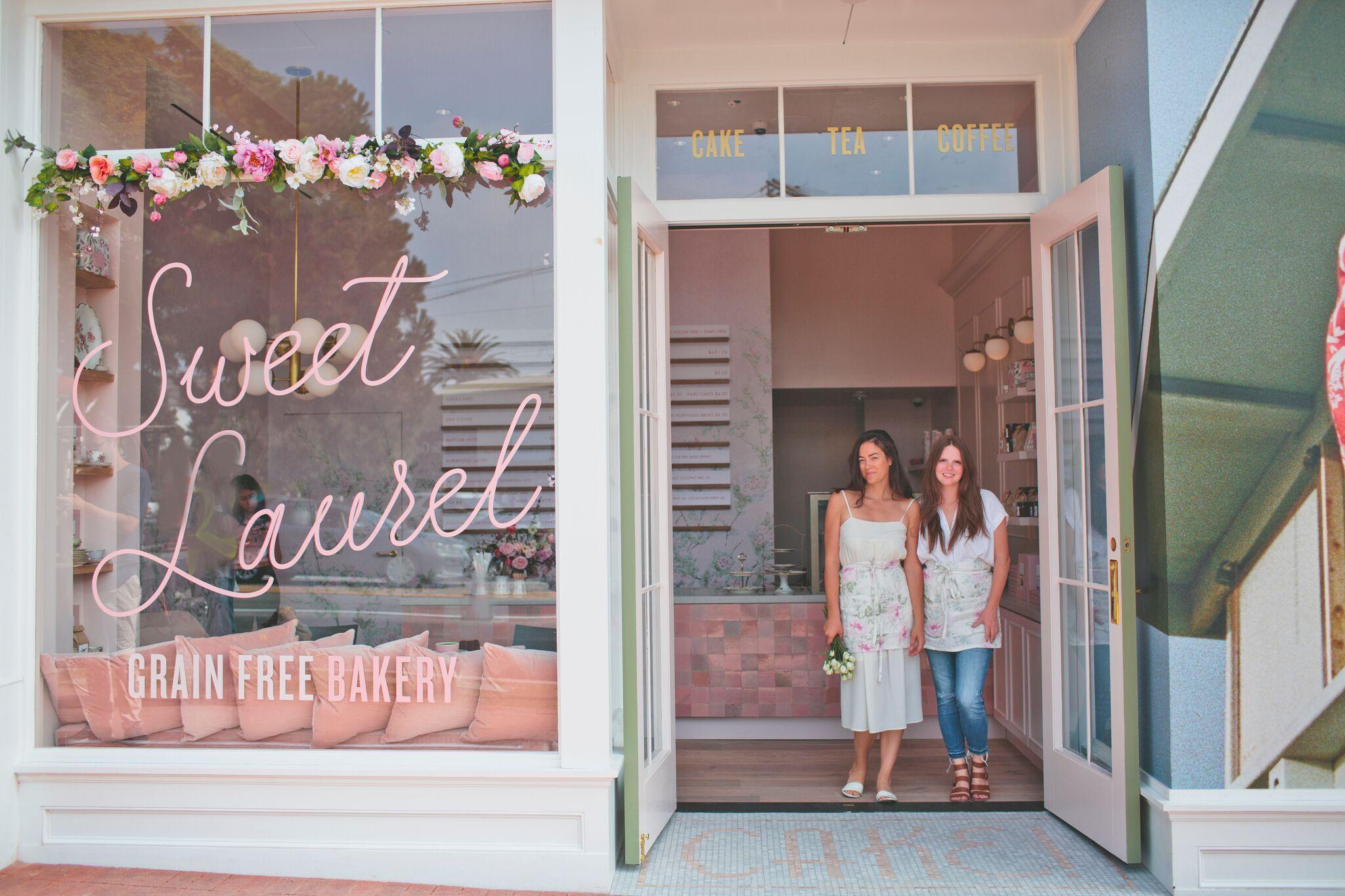 Sweet Laurel Bakery Reveal Bakery Cute Bakery Nail Salon Decor