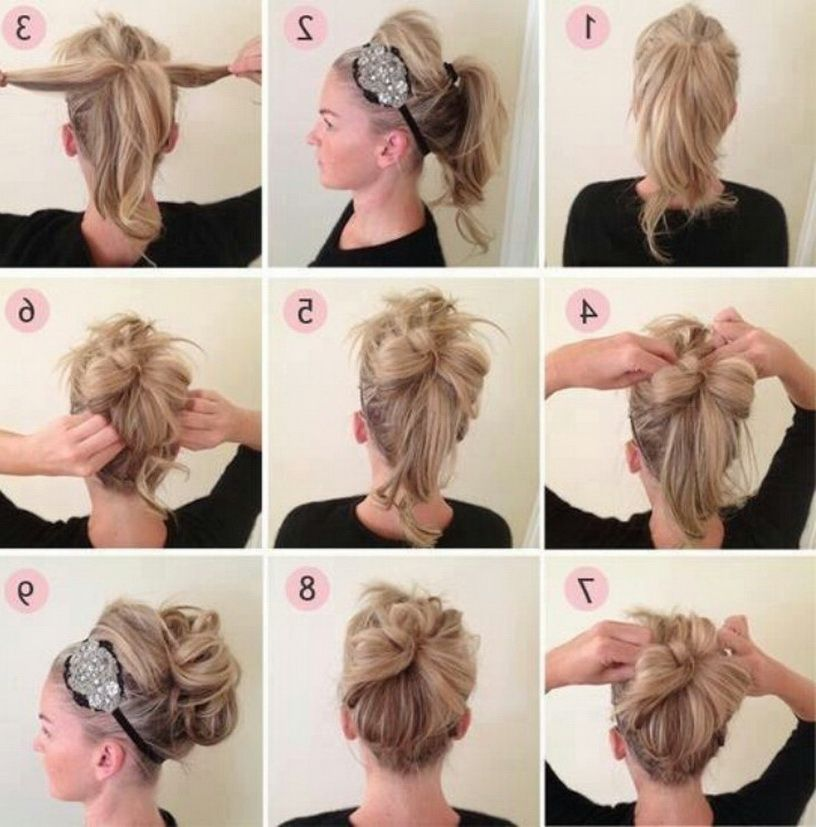 Cute Quick Hairstyles Step By Step Simple Prom Hair Thick Hair Styles Diy Hairstyles