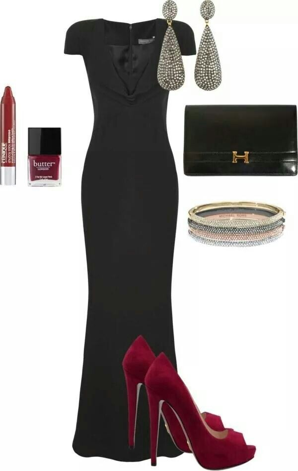 Evening wedding to attend. | My Style | Pinterest | Black tie ...