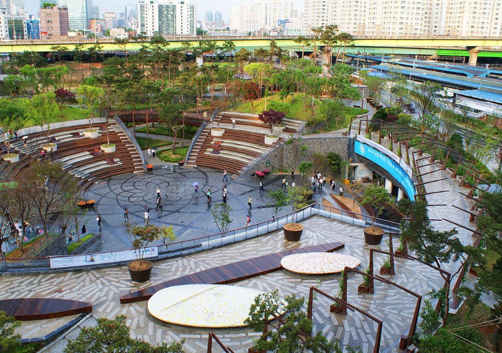 Urban Park Entrance Google Search Water Architecture Parking Design Landscape Architect