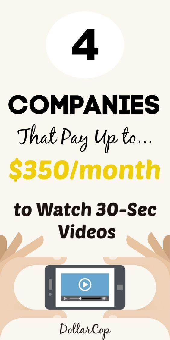 4 Companies That Pay Up to $350/month