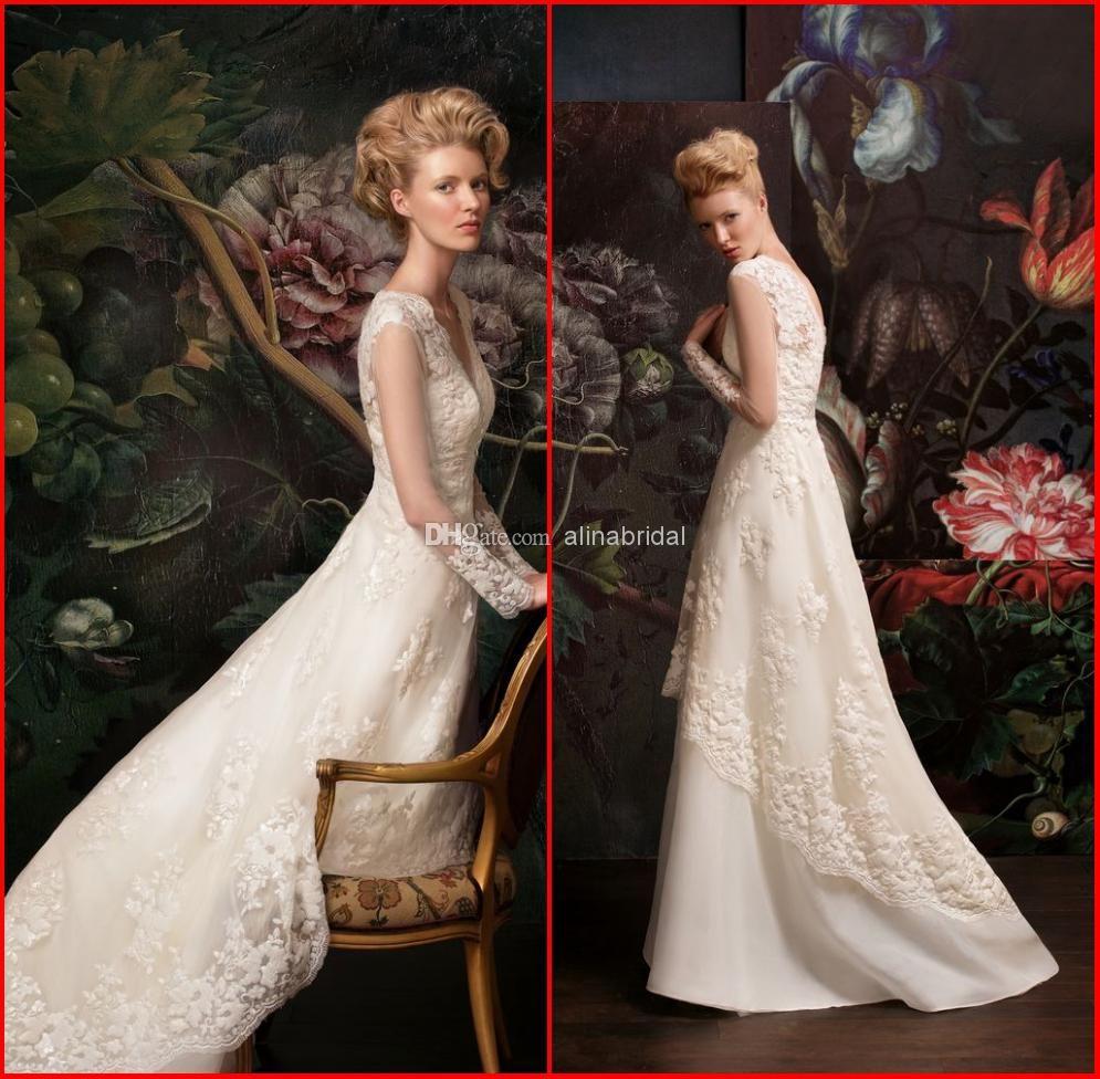 Wholesale aline wedding dresses buy new papilio vintage lace