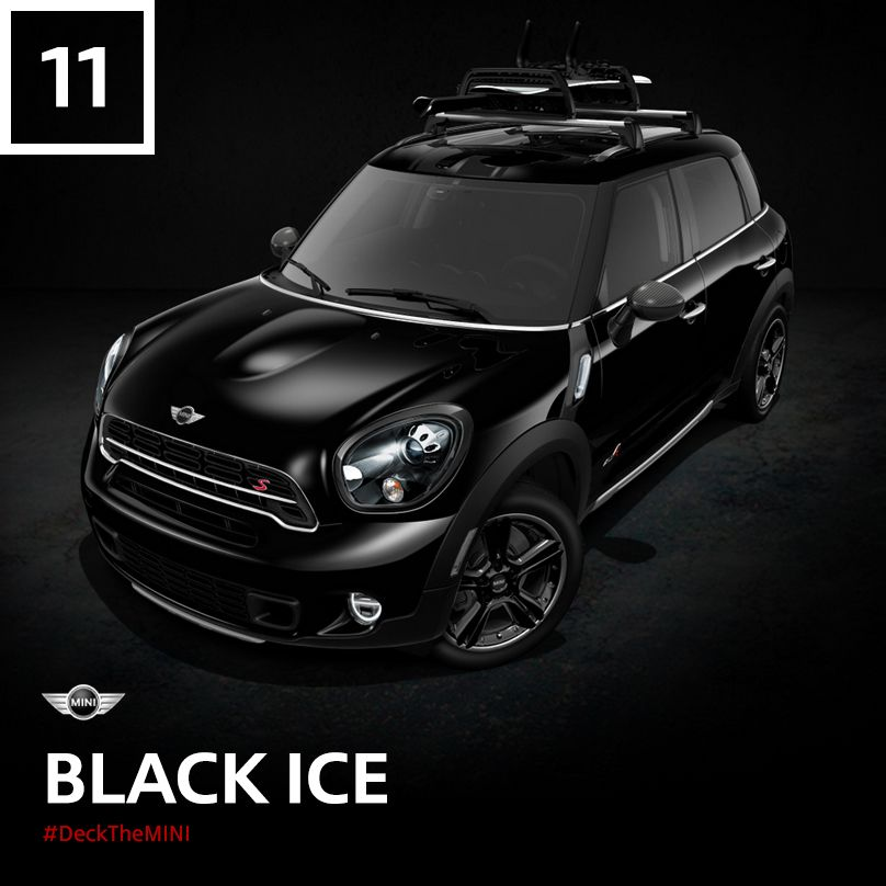 This All4 All Wheel Drive Dark Horse Fears No Weather Ready To Make A Mini Cooper S Countryman Of Your Own Deckthemini