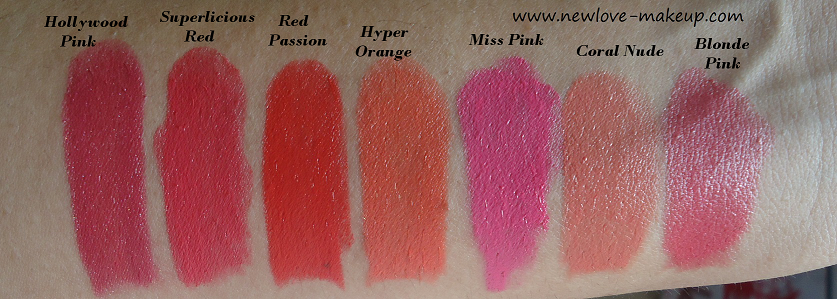 Lakme enrich satin lipstick shades in pink