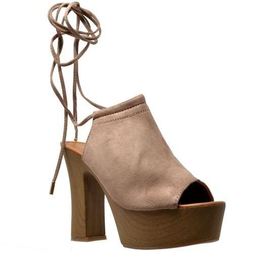 75df50678e7 Peep Toe High Heel Platform Sandal